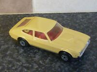 MATCHBOX SUPER KINGS K59 FORD CAPRI II BEIGE BODY WITH RED INTERIOR VGC