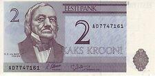 ESTONIA EESTI 2 KROONI 2006 FDS UNC EX URSS CCCP