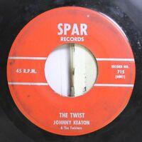 50'S & 60'S 45 Johnny Keaton & The Twisters - The Twist / Twistin' U.S.A. On Spa