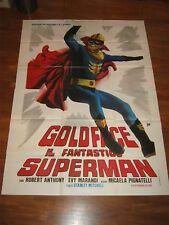 manifesto,Goldface  Il fantastico superman,1968,Bitto Albertini,Marandi,