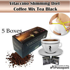 X5 Slimming Diet Instant Coffee Mix Tea Black Herb Diet Burn Fat Natural Drink