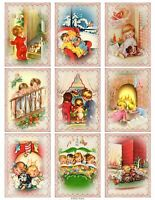 Night Before Christmas Glossy Finish Card Making Topper - Crafts