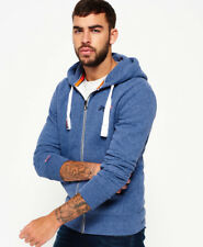 Superdry Orange Label ZIPPED Hoodie Maritime Grit Size Medium With Tags