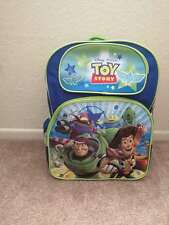 Disney Toy Story Large Blue School Backpack Book Bag For Back to School