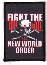 "Fight the New World Order ""RICAMATE"" Patch nWo/illuminati"