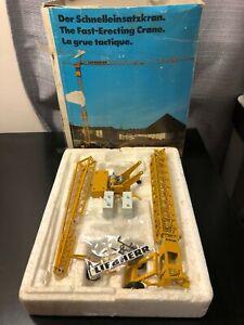 Conrad #2021 Liebherr Fast-Erecting Crane - Scale 1:87 - Die Cast Model Boxed!