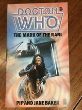 Doctor Who: The Mark of the Rani, Target UK Paperback Book (1986)