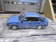 Ford Escort MKIII 3 GL Berline 1982 Bleu Prix Spécial IXO ALTAYA 1: 43
