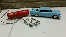 Rare Pmc 1957 Chevrolet Bel Air 4 door Hardtop Promo 1:25 Remote Control Blue