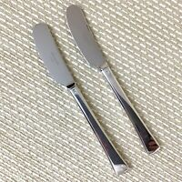 Christofle Concorde Silver Plated Butter Spreaders Pair French Cutlery