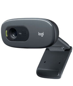 Logitech C270 960000694 HD Webcam - Black