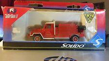 Solido, ACMAT VLRA 4 x 4 Forest Fire Truck, #3125, 1:50, Die-cast Metal-NIB