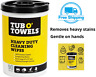 Tub O Towels Heavy-Duty 10 X 12 Inch Size Multi-Surface Cleaning Wipes 90 Count