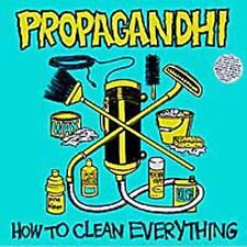 PROPAGANDHI HOW TO CLEAN EVERYTHING CD 1993 FAT WRECK HARDCORE PUNK ROCK METAL