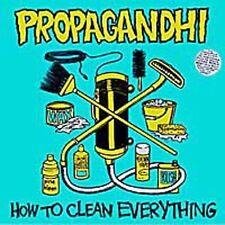 PROPAGANDHI HOW TO CLEAN EVERYTHING CD 1993 FAT WRECK HARDCORE PUNK ROCK METAL