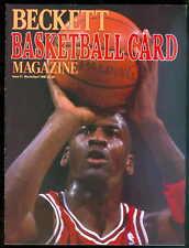 Michael Jordan 1990 Beckett Price Guide #1 Premier Issue