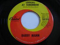 Barry Mann Looking at Tomorrow Original 1966 45rpm VG+