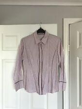 Haines & Bonner Ladies Shirt - Pink Stripe - size 14/16