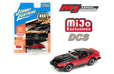 JOHNNY LIGHTNING 1980 DATSUN 280ZX CLASSIC RED 10TH ANNIVERSARY 1/64 JLCP7006