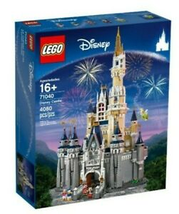 LEGO Disney World 71040 Cinderella's Castle (4080 Pieces, 5 Characters) SEALED