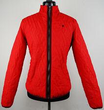 G-STAR RAW UTILITY QUILTED OVERSHIRT Women Jacket Jacke Red Gr.S NEU mit ETIKETT