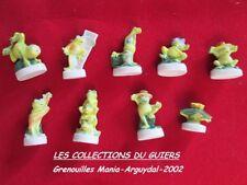 FÈVES ANCIENNES GRENOUILLE MANIA 2002 ARGUYDAL Série complète