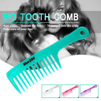 3 Pcs Detangling Wide Tooth Hair Comb Shower Comb for Applying Conditioner