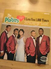 "The Platters Album ""I Love You 1000 Times Signed By Sonny Turner"