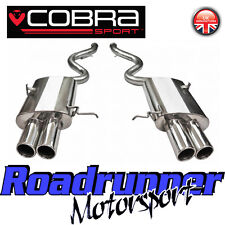 Cobra Sport BMW M3 E92 Coupe Exhaust Rear Silencers Stainless Steel Back Boxes