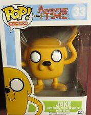 "NEW POP TV,  FROM ""ADVENTURE TIME"", #33, JAKE, FOUR INCH FIGURE"