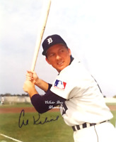 "HOF  Al Kaline ""Detroit Tigers"" 1994 MLB Autographed 8x10 Photo wCOA (BB-193)"