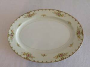 "JAPAN ROYAL EMBASSY CHINA PATTERN LINCOLN OVAL SERVING PLATTER 14"" PRE OWNED"