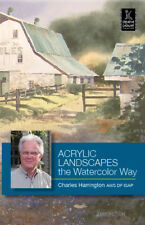 Acrylic Landscapes the Watercolor Way with Charles Harrington - Art DVD