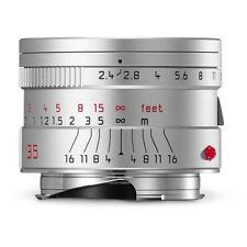 Leica Summarit-M 35mm f/2.4 ASPH. Lens Silver #11679 M M10 M240P M9 M8