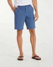 Tommy Bahama Putter Stripe 10-Inch Shorts T81670 $110 Blue Marlin