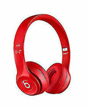 Beats by Dr. Dre Solo3 Headband Headphones - Red OEM