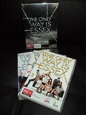 BULK DVD BOXSET - THE ONLY WAY IS ESSEX - SEASON - SERIES 1 + 2 + 3 - REGION 4