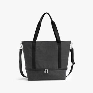 LO & SONS Catalina Deluxe Tote Washed Canvas Midnight Ash
