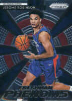 2018-19 Panini Prizm NBA Freshman Phenoms #13 Jerome Robinson Clippers RC Rookie