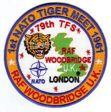 FIRST NATO TIGER MEET PATCH, 1961, RAF WOODBRIDGE, UK,  79TH TFS            Y
