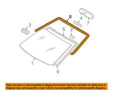 Scion TOYOTA OEM 07-08 tC Windshield-Reveal Molding 7553321060