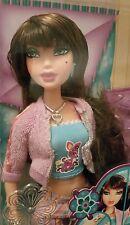 Barbie Myscene PJ Party Delancey color changing makeup and nails! NIB Rare!