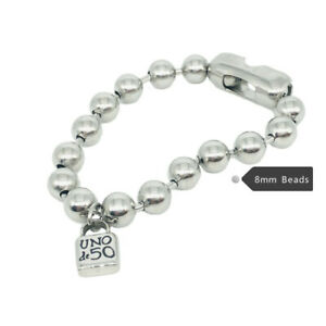 Stainless steel UNO de 50 Jewelry Men Women's Link Chain Padlock Bracelet Unisex