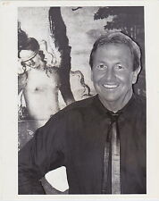 ROBERT RAUSCHENBERG Pop Artist Painter * ICONIC VINTAGE 1987 press photo ARTS