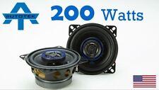 "Autotek ATS4CX 4"" 10cm Car Audio Speakers 200w Coaxial Two Way 1 Pair"