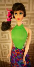 BEAUTIFUL vintage Talking Barbie... With factory set hair wearing simply summer