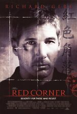 RED CORNER (1997) ORIGINAL MOVIE POSTER  -  ROLLED