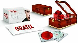 Dexter The Complete Series Collection DVD Limited Edition Gift Box Set NEW