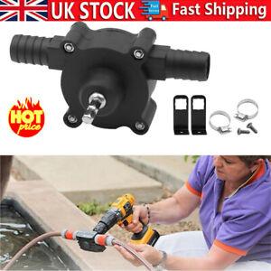 Hand-Electric-Drill Drive Self Priming Pump Oil Fluid Water Transfer Small Pump-