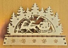 Markenlose weihnachtliche Tischdekorationen aus Holz Rentier